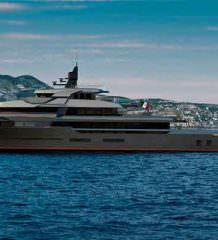 Исследовательское судно и элитная яхта 2-в-1 от VSY | фото