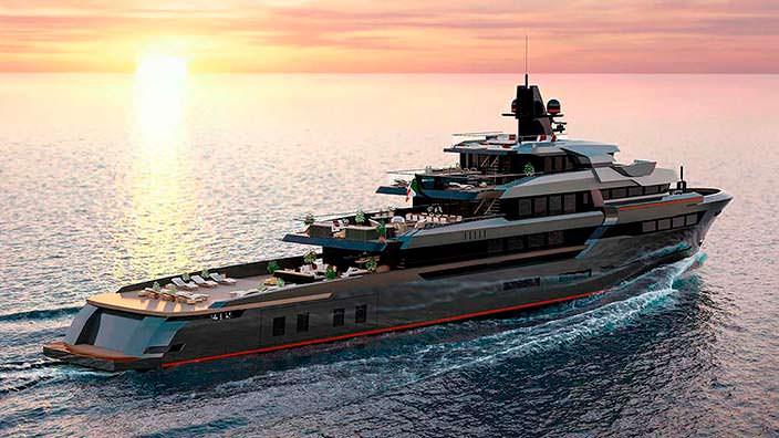Исследовательская итальянская яхта от VSY