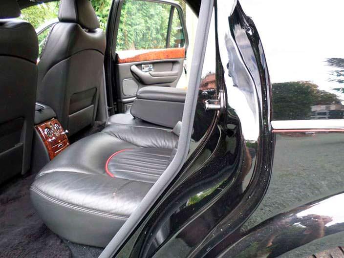 Кожаные сиденья Bentley Arnage