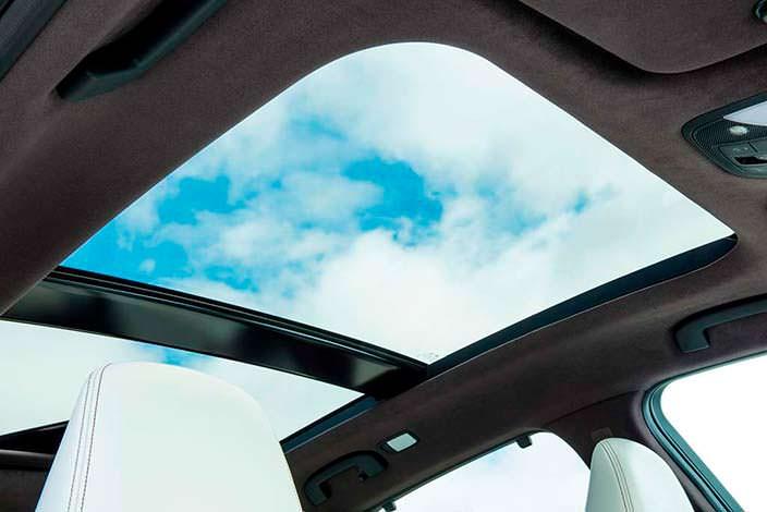 Панорамная крыша Infiniti QX50