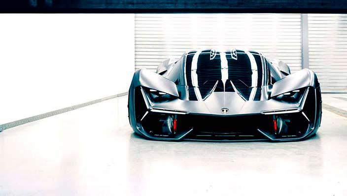 Электрический суперкар Lamborghini Terzo Millennio