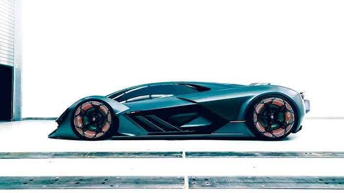 Новый дизайн Lamborghini Terzo Millennio