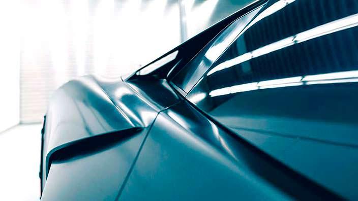 Аэродинамический кузов Lamborghini Terzo Millennio