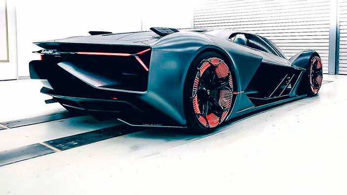 Суперкар Lamborghini Terzo Millennio