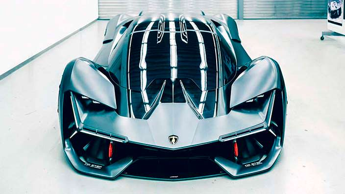 Фантастический суперкар Lamborghini Terzo Millennio
