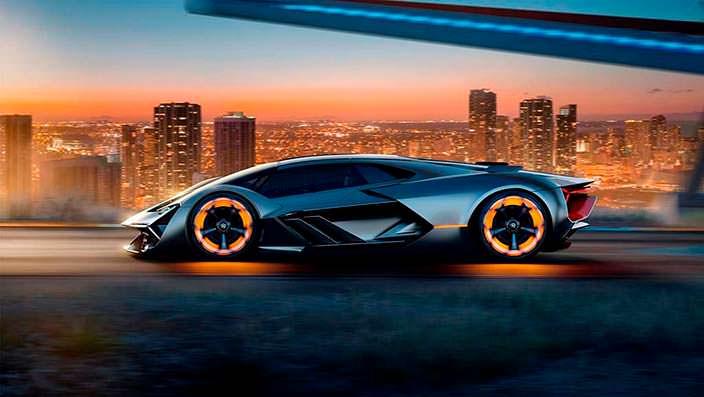 Новый Lamborghini Terzo Millennio