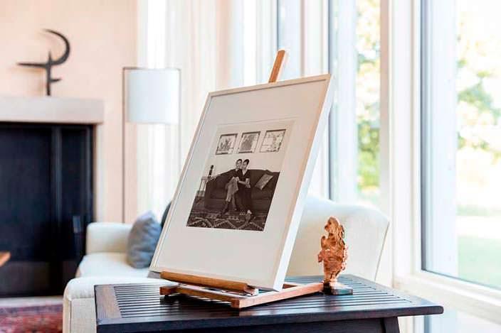 Фотография Барака и Мишель Обамы на память