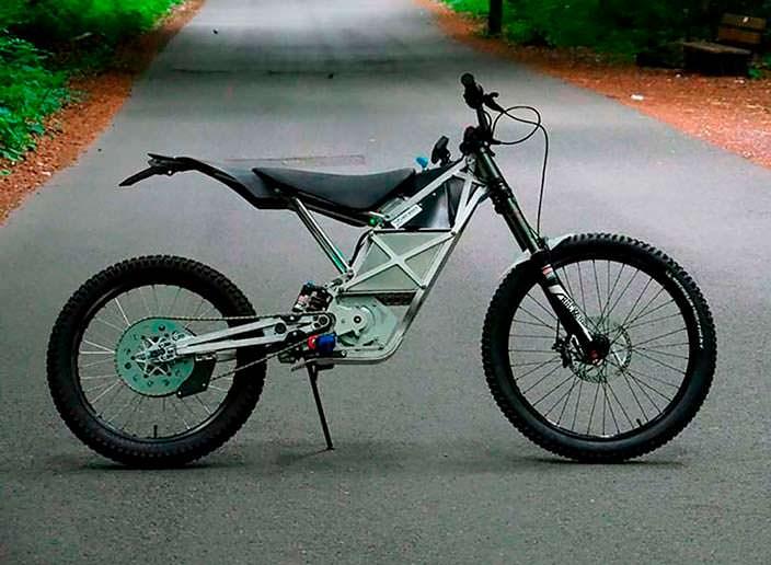 LMX 161: электрический мотоцикл для мотокросса