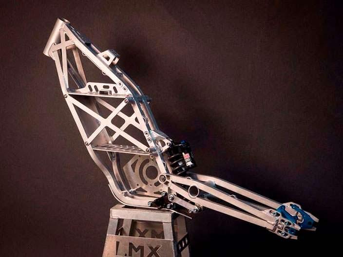 Модульная рама мотоцикла для мотокросса LMX 161