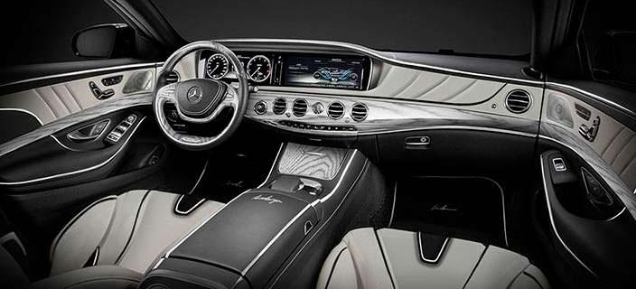 Салон Mercedes-Benz S-Class XXL от Ares Atelier