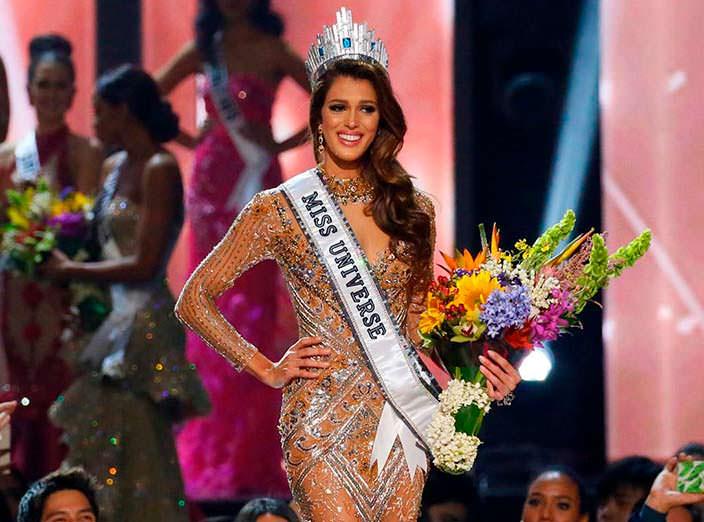 «Мисс Вселенная 2016» Ирис Миттенар