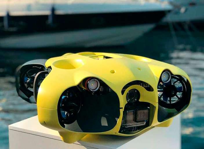 ibubble: поводный дрон с камерой для селфи-видео