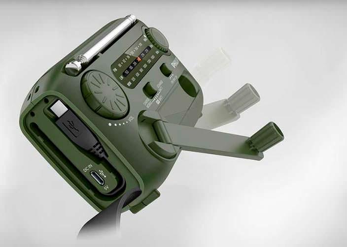 Радио с генератором энергии Philips AE1120/00