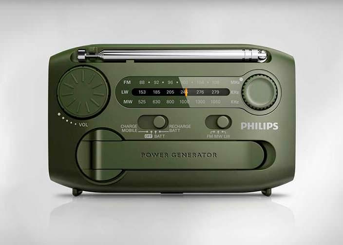 Радио выживальщика Philips AE1120/00