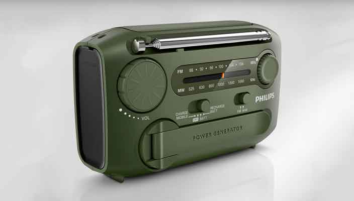 Philips создал радио для выживальщика AE1120/00