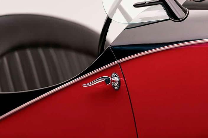 Ручка двери Alfa Romeo 6C 2500 SS Spider 1942 года