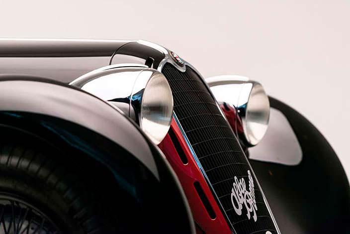 Фары Alfa Romeo 6C 2500 SS Spider