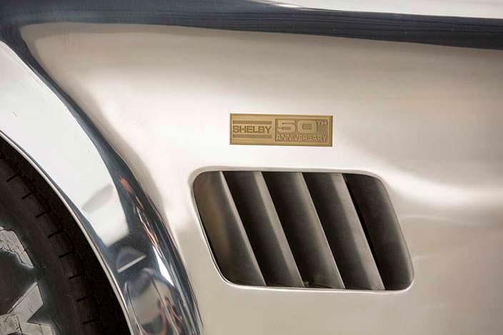 Салон Shelby 427 Cobra 50th Anniversary Edition