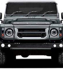 Kahn Design готовит шестиколесный Land Rover Defender   фото