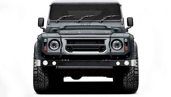 Kahn Design готовит шестиколесный Land Rover Defender | фото