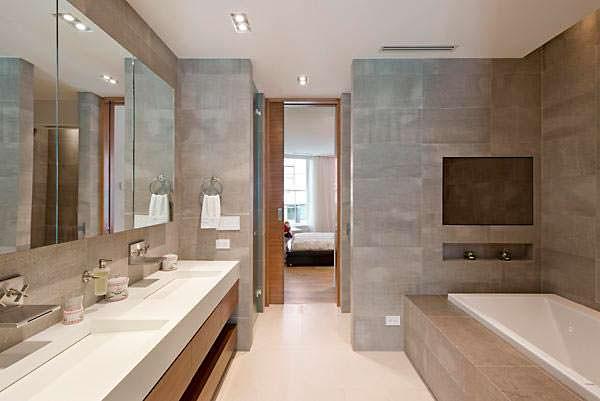 Элитная ванная комната в квартире Тейлор Свифт на Манхэттене