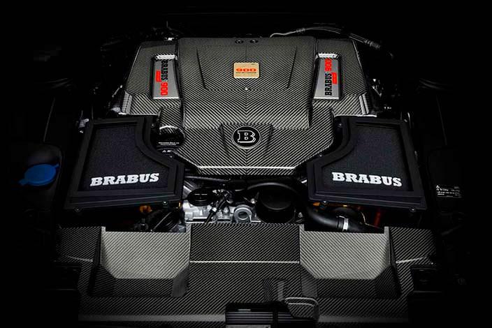 Двигатель 6.3-литра V12 на 888 л.с. от Brabus