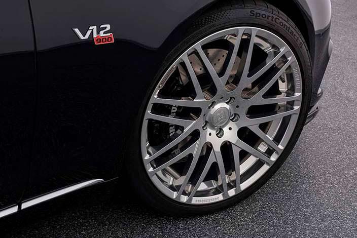Титановые диски Brabus для Mercedes-Maybach S650