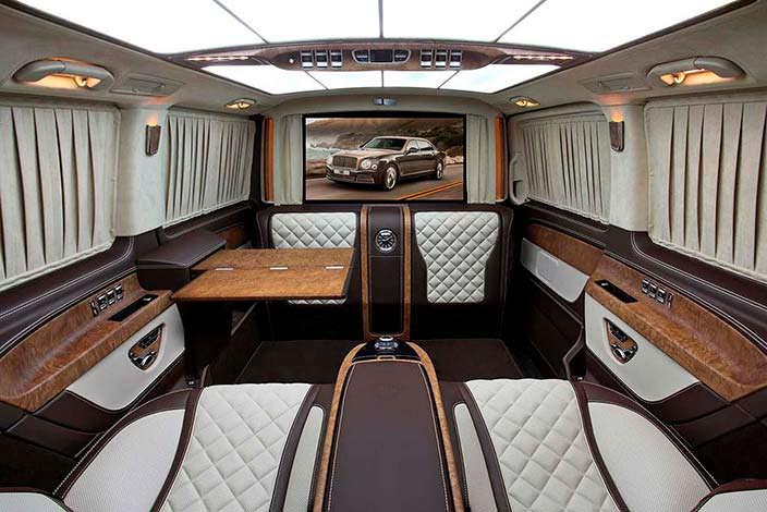 Салон Mercedes V-Class от TopCar