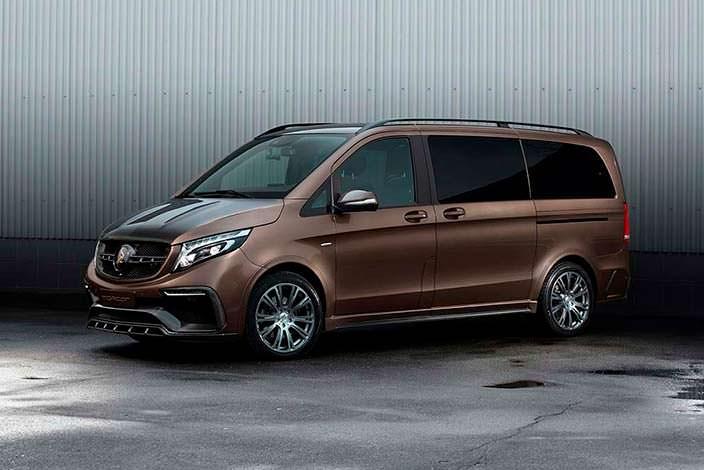 Новый Mercedes-Benz V-Class от TopCar