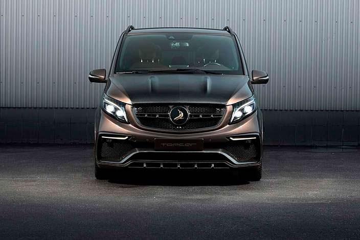 Новый тюнинг Mercedes-Benz V-Class от TopCar