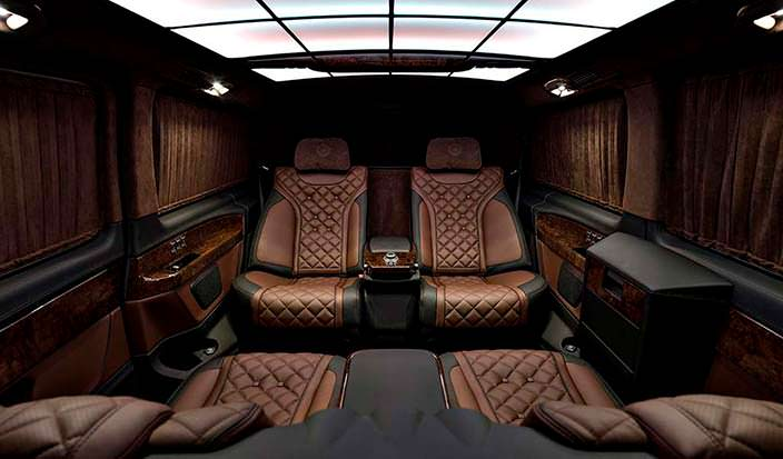 Элитный салон Mercedes-Benz V-Class от TopCar
