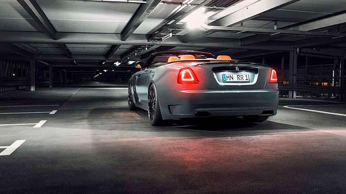 Новый Rolls-Royce Dawn. Тюнинг Spofec