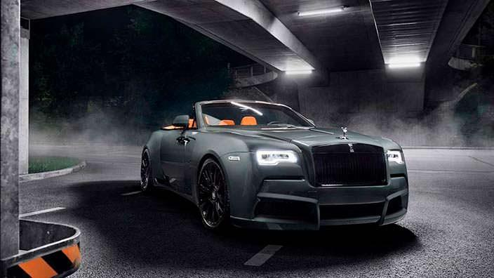 Rolls-Royce Dawn. Карбоновый обвес от Spofec