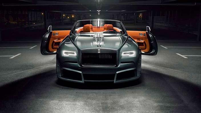 Rolls-Royce Dawn. Углеродный обвес кузова от Spofec