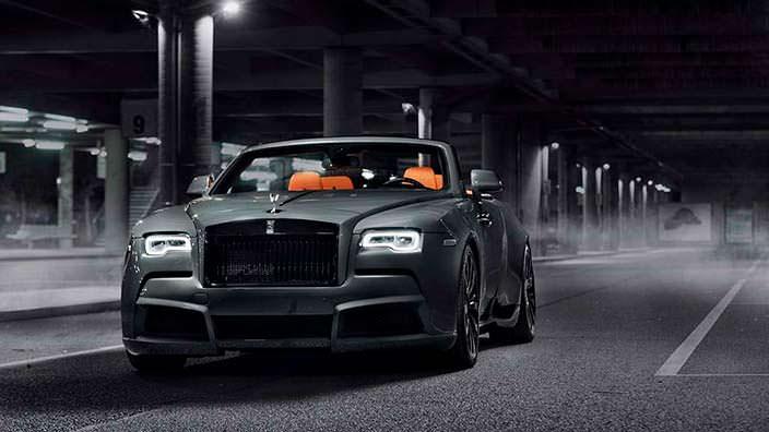 Тюнинг Rolls-Royce Dawn. Углеродный обвес от Spofec