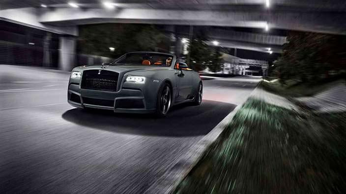 Тюнингованный Rolls-Royce Dawn. Углеродный обвес от Spofec