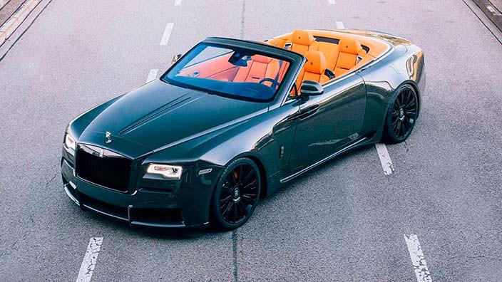 Кабриолет Rolls-Royce Dawn. Тюнинг от Spofec