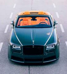 Spofec подготовил тюнинг кабриолета Rolls-Royce Dawn | фото