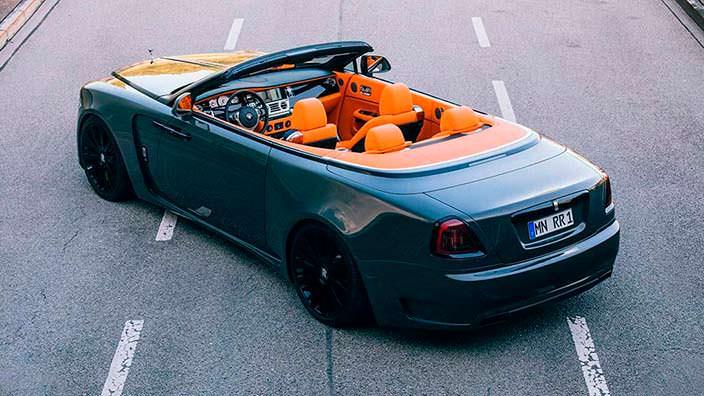 Тюнинг кабриолета Rolls-Royce Dawn от Spofec