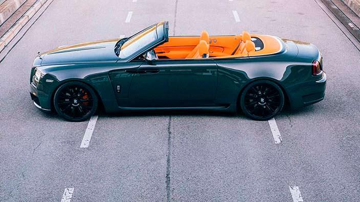 Тюнинг Rolls-Royce Dawn от Spofec