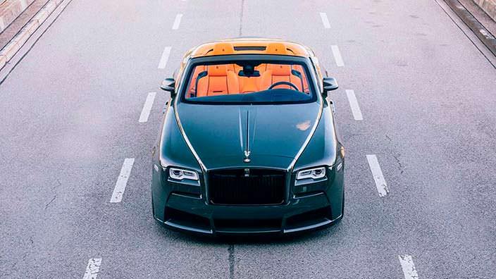 Новый тюнинг Rolls-Royce Dawn от Spofec
