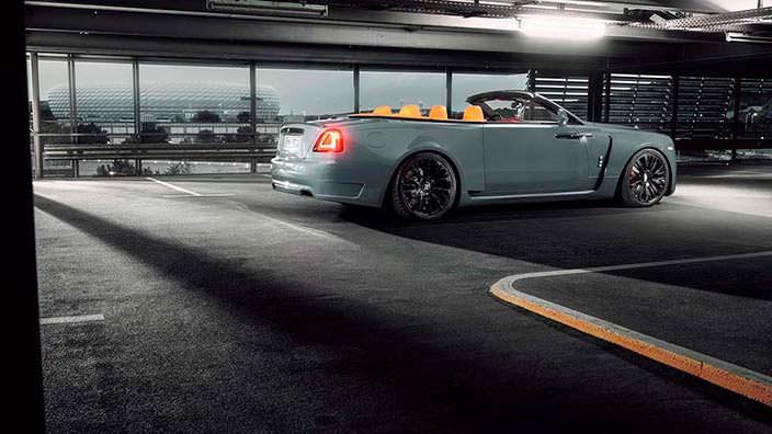 Четырёхместный кабриолет Rolls-Royce Dawn. Тюнинг Spofec