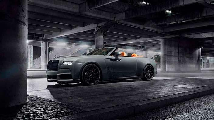 Кабриолет Rolls-Royce Dawn. Тюнинг Spofec
