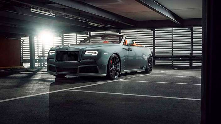 Кабриолет Rolls-Royce Dawn от Spofec