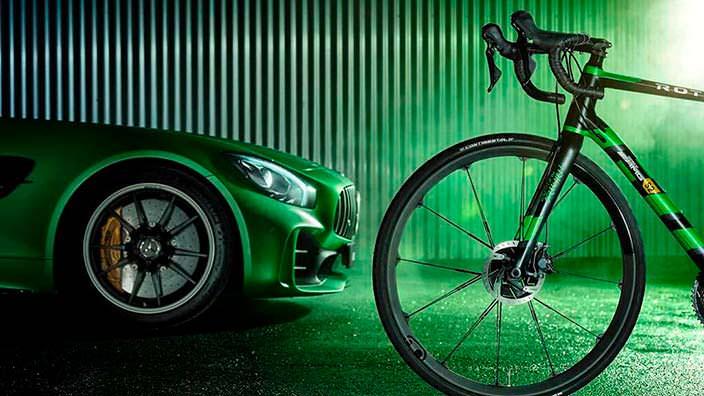 Шоссейный велосипед Mercedes-Benz