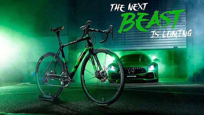 Шоссейный велосипед Mercedes-Benz Rotwild RS.2
