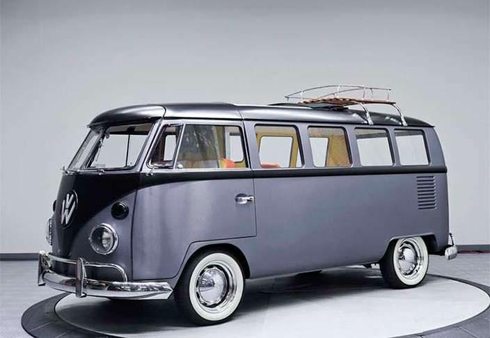 Отреставрированный Volkswagen T1 1967 года