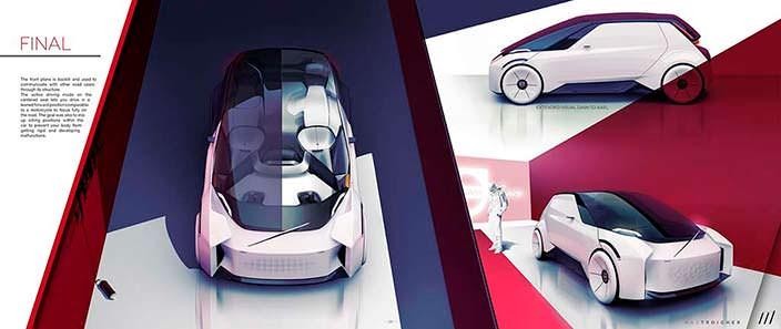 Умный автомобиль будущего Volvo Care Concept