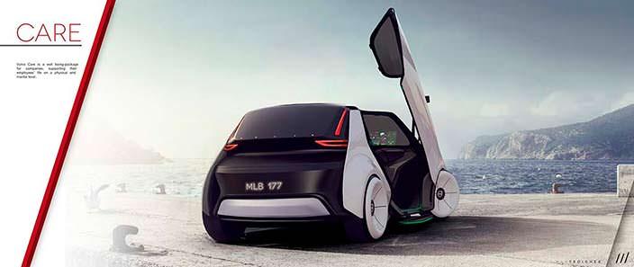Компактный автомобиль будущего Volvo Care Concept