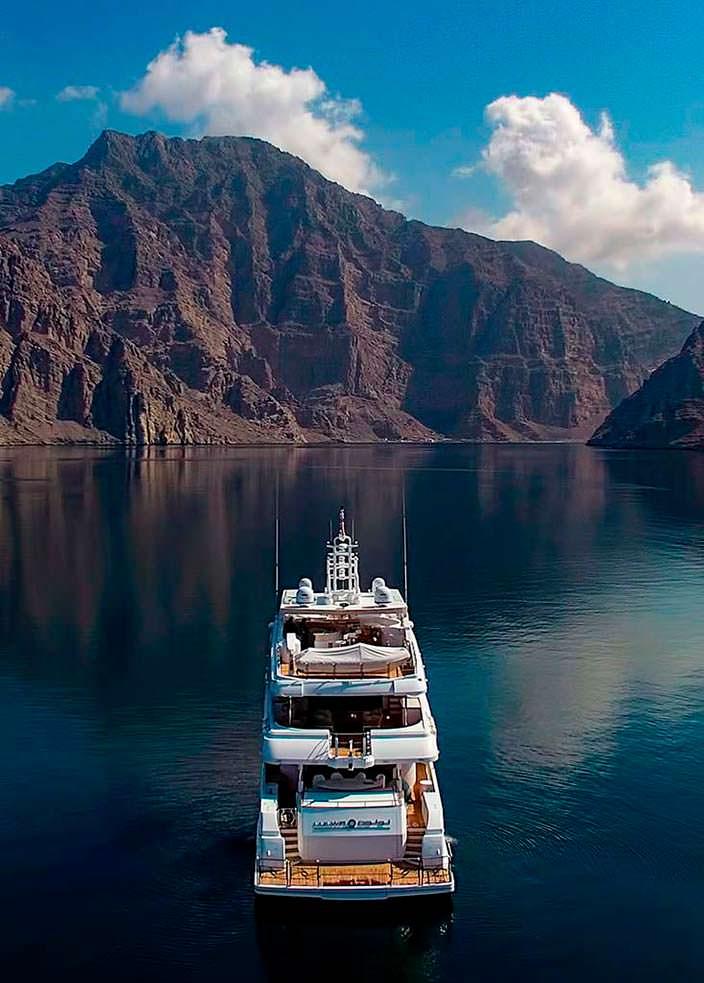 41,05-метровая яхта Lulwa от Gulf Craft